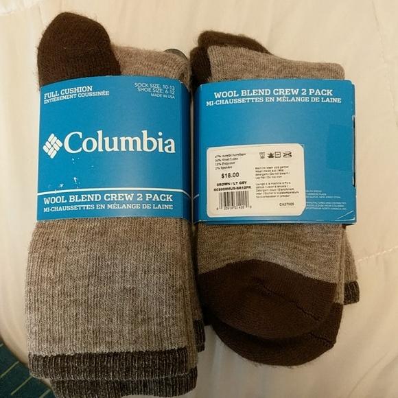4b6c700c814 Columbia Accessories - new columbia wool socks